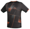 Tibhar Check_T-Shirt_black_neonorange.png